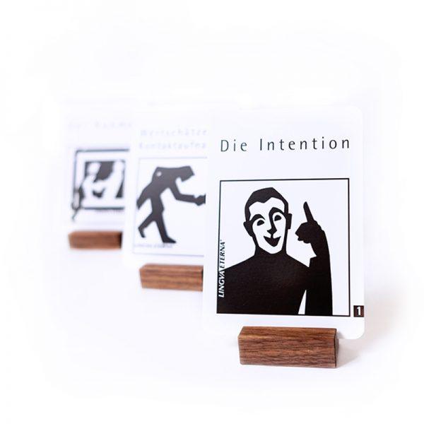 Kommunikationskarten in Schwer Weiß Die Intention