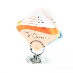 Kartenhalter für Lernkarten mit verschiedenen Farben