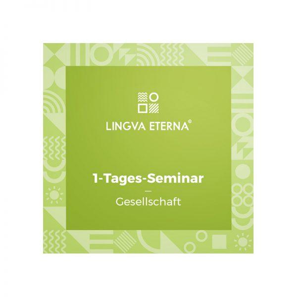 1-Tages-Seminar Gesellschaft