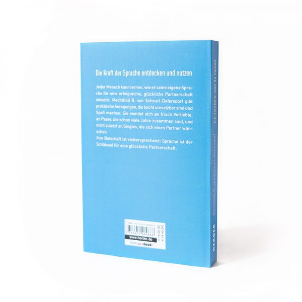 Rückseite Buchcover Ich verstehe was du meinst Die Kraft der Sprache entdecken und nutzen